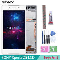 100% Original For SONY Xperia Z5 LCD Touch Screen For SONY Xperia Z5 Display Digitizer Assembly E6653 E6603 E6633|sony xperia screen|xperia screen|sony screen -