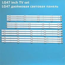 """12 قطعة LED الخلفية شريط مصابيح ل LG 47 """"التلفزيون 6916L 1259A 6916L 1260A 6916L 1261A 6916L 1262A LC470DUE SF R1 R2 R3 R4 U1 47LA6210"""