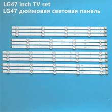 "12 Stuks Led Backlight Lamp Strip Voor Lg 47 ""Tv 6916L-1259A 6916L-1260A 6916L-1261A 6916L-1262A LC470DUE Sf R1 R2 R3 r4 U1 47LA6210(China)"