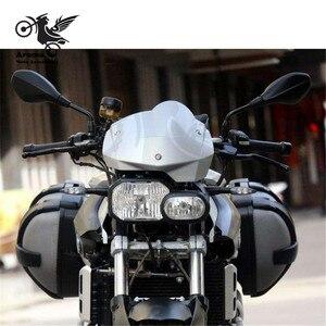 Image 5 - スクーターフリーリアビューカメラブランドオリジナル 8 ミリメートル 10 ミリメートル moto サイドミラー moto rbike バックミラー bmw f800r ミラー moto rcycle アクセサリー