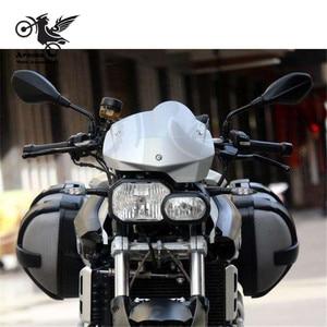 Image 5 - سكوتر الرؤية الخلفية العلامة التجارية الأصلي 8 مللي متر 10 مللي متر moto الجانب مرآة moto rbike مرآة الرؤية الخلفية ل bmw f800r مرآة moto rcycle اكسسوارات