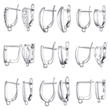 925 Sterling Silver DIY Jewelry Findings Earring Clasps Hooks Fittings DIY Jewelry Making Accessories Hook Earwire Jewelry cheap JEXXI Clasps Hooks 0inch Metal 11P27201