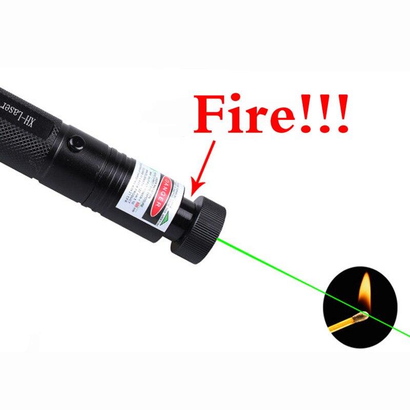 2020 Laser Pointer High Power 532nm 303 Green Laser Pointer Pen Adjustable Burning Match Dangerous laser pointer burning