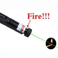 2020 ponteiro laser de alta potência 532nm 303 caneta ponteiro laser verde ajustável queima jogo perigoso ponteiro laser queima