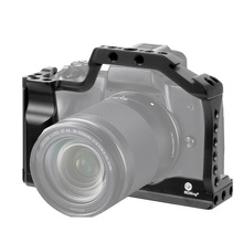 """M50 מקצועי DSLR מצלמה כלוב מגן מקרה עבור Canon M50 M5 מהיר שחרור כלוב עבור EOS M50 1/4 """"3/8"""" חור עבור ARRI ידית"""