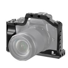 """M50 profissional câmera dslr gaiola caso protetor para canon m50 m5 liberação rápida gaiola para eos m50 1/4 """"3/8"""" buraco para arri lidar com"""