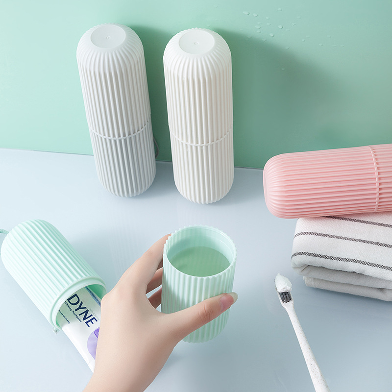 Portable Travel Toothpaste Toothbrush Protect Holder Cap Case Travel Camping Toothbrush Storage Box Cover Household Storage New