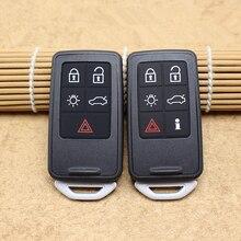 Xe Từ Xa Thông Minh Vỏ Chìa Khóa Thay Thế Chìa Khóa Cho Volvo XC60 S60 S60L V40 V60 S80 XC70 Thông Minh Chìa Khóa Ô Tô ốp Lưng Vỏ