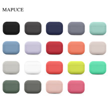 Silicone Case For Airpods Pro Case Wireless Bluetooth for apple airpods pro Case Cover Earphone Case For Air Pods pro 3 Fundas(China)