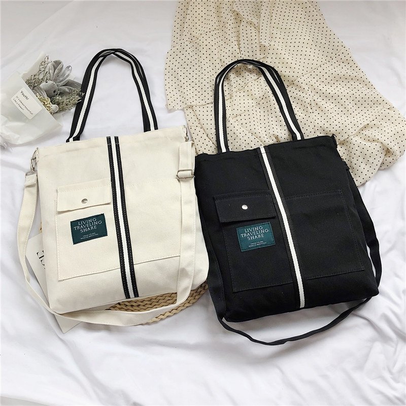 Casual Canvas Tote Handbag Women Shoulder Bag Female Summer Beach Bag Shoulder Bag Lady BB477