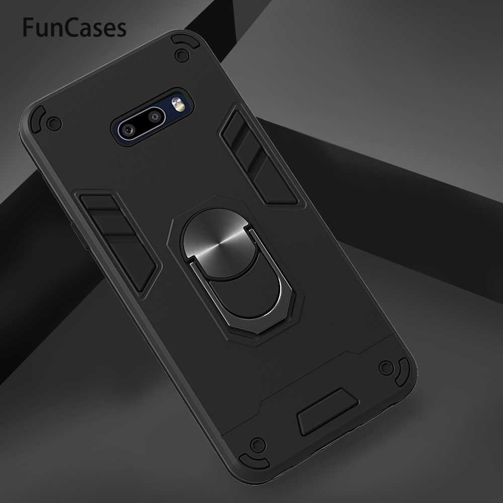 Housses de téléphone portable pour ajax LG G8X aimant étui à rabat sFor LG coque de téléphone V50S K50 K30 Q60 K40 Para Silicone souple protecteur Estuche