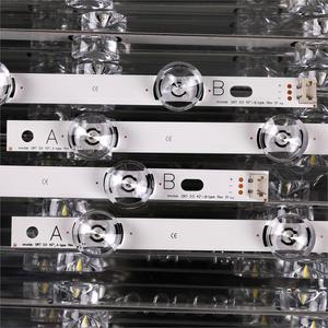 Image 3 - 8 stücke x Led hintergrundbeleuchtung Lampe Objektiv streifen für LG 42LY320C LC420DUE INNOTEK DRT 3,0 42 inch TV 42LB5610 42GB6310 LCD Monitor