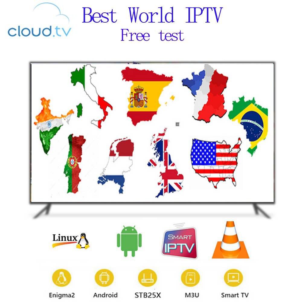 IPTV Abonnement 1 jahr code Spanisch Portugal Deutschland UK Polen USA M3U Android Box Smart TV