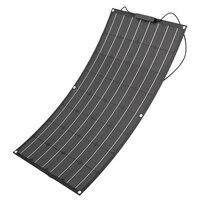 100w flexible solar panel 12V/18V for solar car boat led solar street light mono solar cell