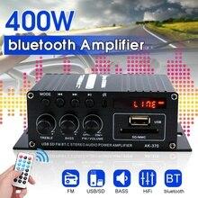 400W 2*200W Hifi Car Home Subwoofer car audio power Amplifie