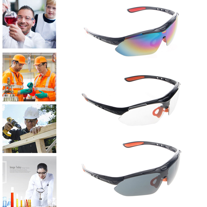 Safety Work Lab Goggles Eyewear Glasses Eye Protection Protective Spectacles Dropship