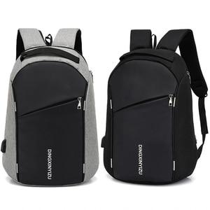 Image 1 - Fashion Male Backpack Anti Theft Student Men Laptop Backpack Waterproof Men School Backpacks Travel Fold Teen School bags