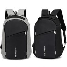 Moda męski plecak Anti Theft Student Men plecak na laptopa wodoodporne męskie plecaki szkolne Travel Fold Teen School bags