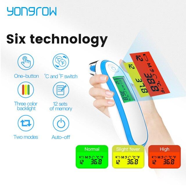 Инфракрасный бесконтактный термометр Yongrow YK-IRT1
