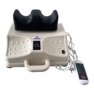 Image 3 - Máquina Eléctrica de oscilación aeróbica para pies oscilantes, masajeador de fisioterapia para cintura, dispositivo de tracción de columna vertebral Cervical y lumbar