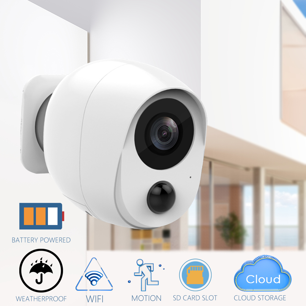 CTVMAN Outdoor IP Camera with Battery PIR 1080P Mini Wifi Cameras Cloud Audio IR Alarm Wireless Video Surveillance CCTV Cameras