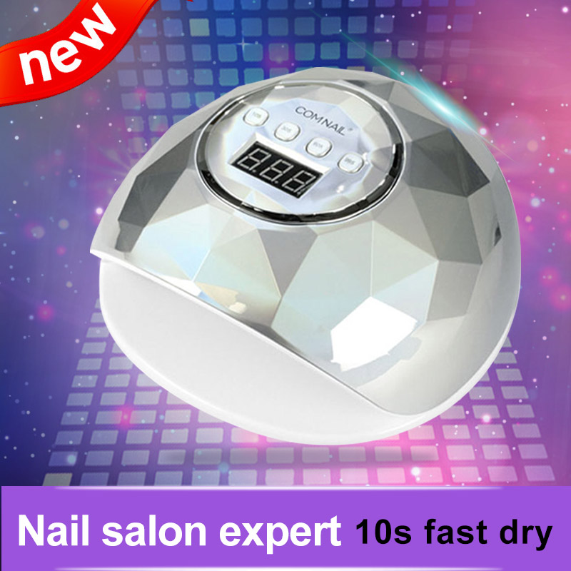 UV Lamp For Nail Professional Nail Salon Nail Dryer 10s Fast Dry LED Manicure Lamp For Nails LED Display Nail Lamp Manicure