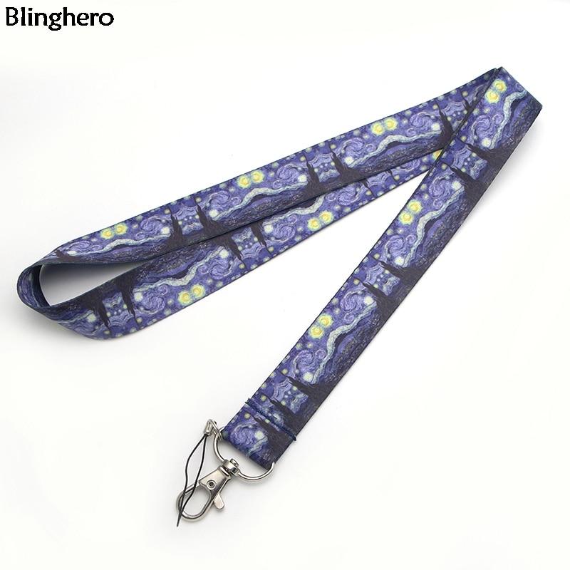 Blinghero Funny Lanyard For Keys Cool Mobile Phone Neck Strap USB ID Badge Holder Hang Rope Best Gifts ZC0234