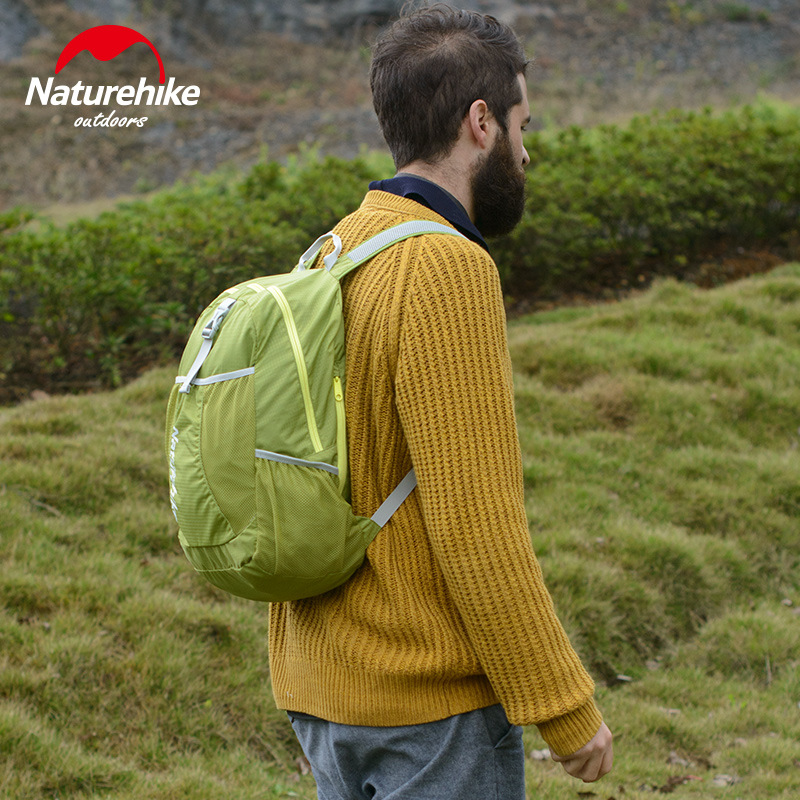 NH Naturehike Kite Folding Backpack Outdoor Backpack Men And Women Portable Hiking Backpack Waterproof Mountaineering Bag