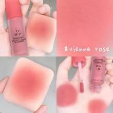 1 pçs líquido blush veludo matte blush pigmento facial duradouro natural bochecha blush rosto contorno ilumina maquiagem cosméticos tslm1