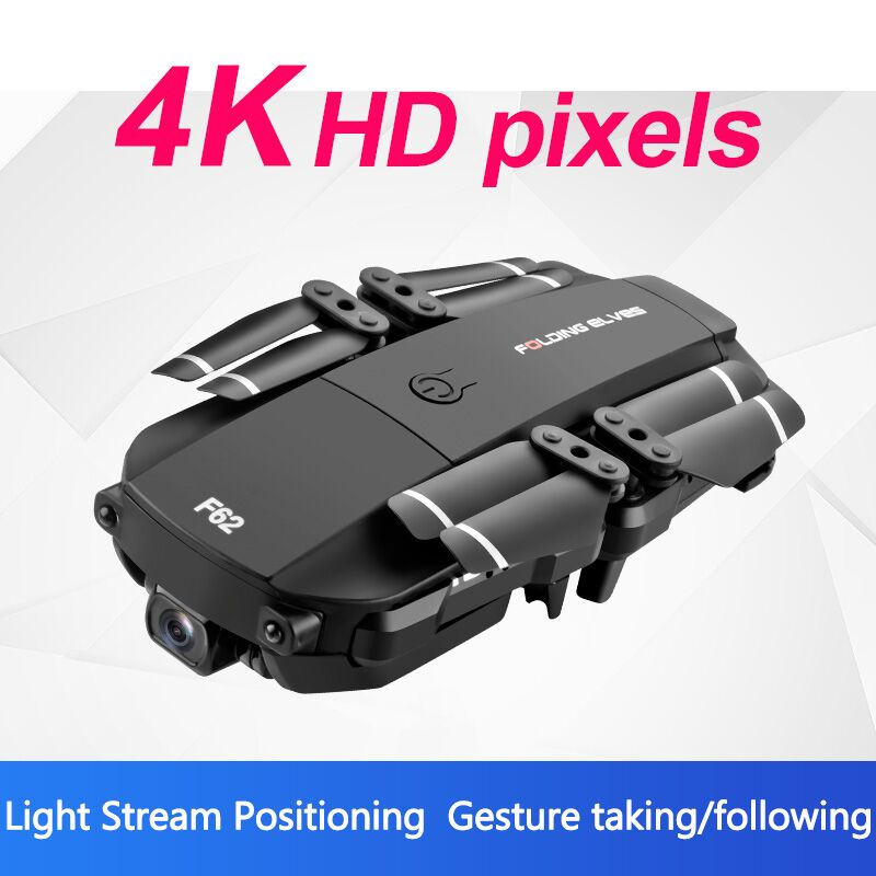 cheapest New F62 Folding Drone HD Wide-angle Aerial Photography WiFi  4K Camera Optical Flow Four-axis Remote Control Aircraft Helicopter