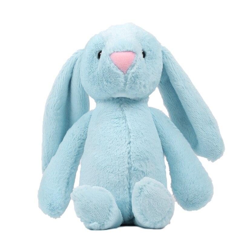Распродажа 28 см мягкий плюшевый кролик, плюшевые мягкие игрушки, плюшевый кролик, детская подушка, кукла, креативный подарок на день рождения для девочек Мягкие игрушки животные    АлиЭкспресс