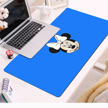 70x30cm Large Mouse Pad Minnie Mickey Gaming Mousepad Anti-slip Natural Rubber with Locking Edge Gaming Mouse Mat Desk mat rakoon reejoyan gaming mouse pad anti slip pc computer gamer mousepad locking edge natural rubber mouse mat for cs go lol dota2
