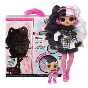 Сюрприз л. О. Л.! OMG зимняя диско Dollie Модная Кукла и сестра LOL кукла
