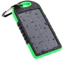 Top Solar Power Bank Waterproof 12000mAh Solar Charger 2 USB Ports External Charger Powerbank for Xiaomi MI iPhone 8 Smartphone(China)