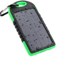 Top Solar Power Bank Waterproof 12000mAh Solar Charger 2 USB