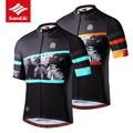 Santic Велоспорт Джерси для мужчин Pro Team MTB Спортивная майка короткий рукав Горные велосипед Джерси одежда Ropa Ciclismo M8C02128B