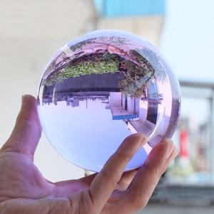 Creative New Crystal Sphere Home Decor Balls Rare Natural Amethyst Quartz Stone Sphere Crystal Fluorite Ball Healing Gemstone(China)