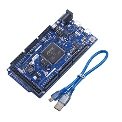 DUE R3 плата SAM3X8E 32-битная ARM Cortex-M3 / Mega2560 R3 Duemilanove 2013 для Arduino Due плата с кабелем бесплатная доставка