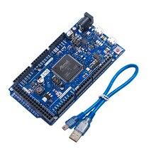 DUE R3 보드 SAM3X8E 32 비트 ARM Cortex M3 / Mega2560 R3 Duemilanove 2013 Arduino Due 보드 용 케이블 무료 배송