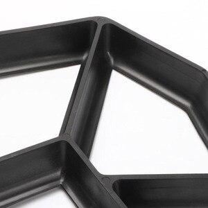Черный пластик Изготовление DIY мощения формы домашний сад пол дорога бетон Шаговая дорожка каменная дорожка форма патио производитель|Формы для уличной плитки|   | АлиЭкспресс