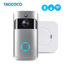 Smart Video Doorbell Camera WiFi IP Camera Ring Door Video Intercom Two Way Audio APP Control Night Vision Doorbell Doorphone cheap TAOCOCO Wireless Dry battery Photograph Color 2 * 18650 Batteries ( not included ) TOSEE
