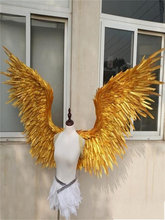 1 PC ชุดปีก UP Feather Fairy Beautiful Angel ปีก 4 สี PARTY Props ของขวัญผู้ใหญ่ Pretty Angel Wings dressing UP(China)