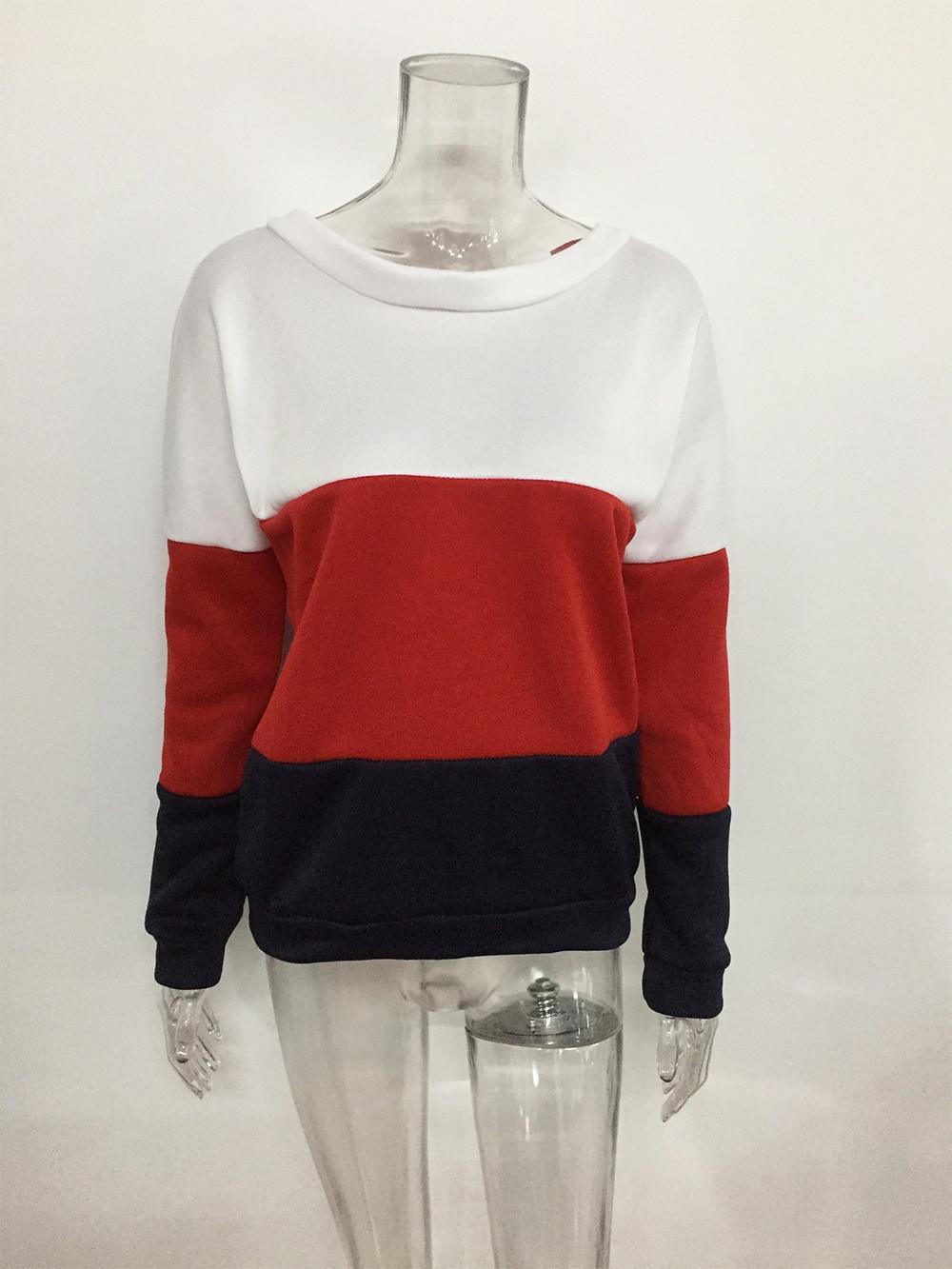 Patchwork White Hoodies Sweatshirts EuropeTops 2020 Women Casual Kawaii Harajuku Kpop Sweat Punk For Girls Clothing Korean