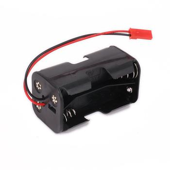 AA 02070 Battery Holder Case Compartment Receiver Part for 1/8 1/10 RC HSP Car Accessories image