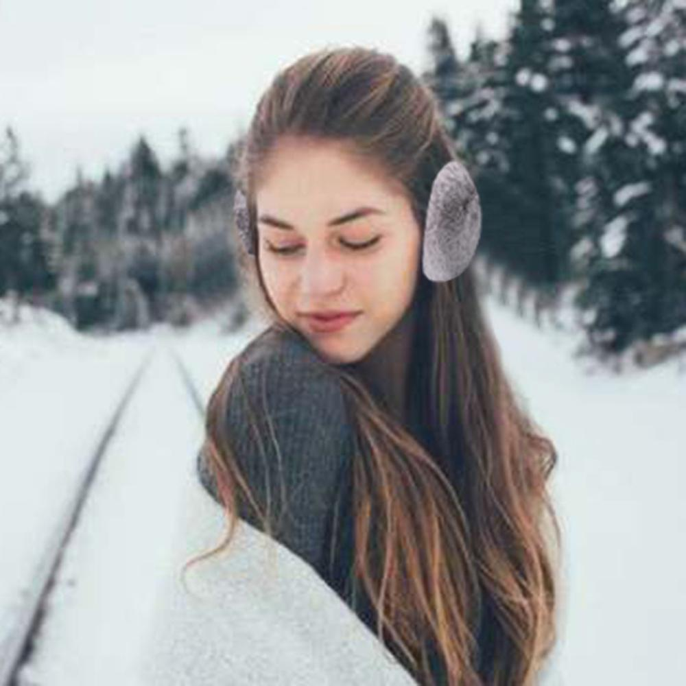 Winter Ears Warmer Head Warmer Ear Muffs Outdoor Foldable Earmuffs Меховые наушники для согрева ушей Winter Accessories #TN28