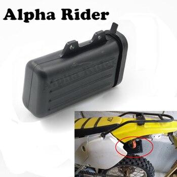 Мотоцикл Pit Dirt Trail Велосипеды ящик для инструментов держатель бутылки пластиковый контейнер для Suzuki DR250 Djebel TW200 TW225 внедорожный мотокросс