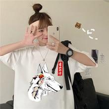 T hemd frauen Studio Ghibli femme Japanischen Anime cartoon t-shirt t-shirt Miyazaki Hayao kleidung weibliche kawaii Oversize