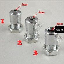 4 Size metalen kabel/Staal touw grip, clip Draad Cord Grip Hanglamp kabel lock, plafond rose verlichting accessoires
