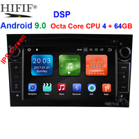 IPS 4GB+64GB Steering Wheel 2 Din Android 9.0 For Opel Vectra Corsa D Astra H Car DVD Multimedia Player Built in Dangle Radio