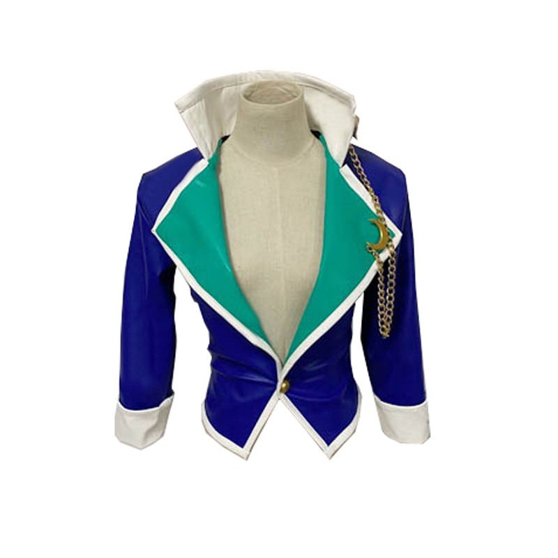 Anime JoJo's Bizarre Adventure CLAMP Kujo Jotaro Cosplay Costume blue coat| | - AliExpress